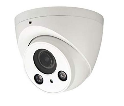 (Dahua) – 4MP IR Eyeball Network Camera with Motorized Lens