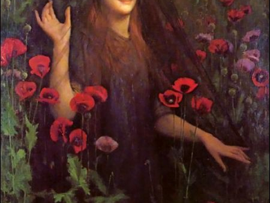 Death and Dahlias : A tale of Persephone