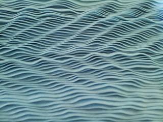 Blue Wave Diva close up