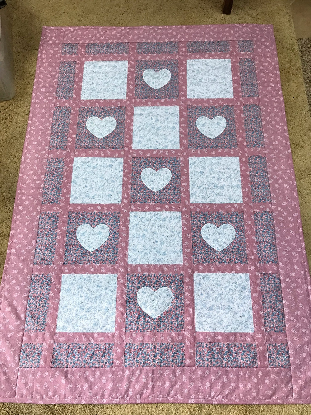 Finished Baby Quilt