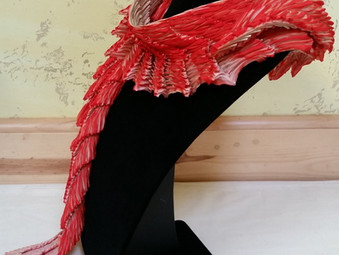 Pimento Wings Of Isis Scarf