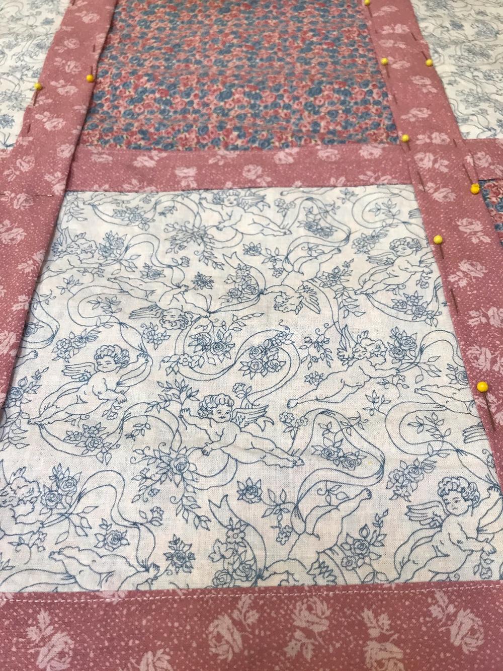Treasured fabrics from my stash