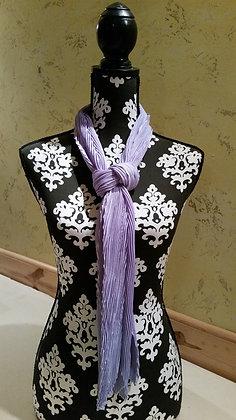 Lavendar Chevron scarf