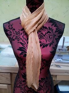 Orange scarf 2013