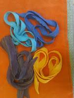 solid color arashi shibori scarves