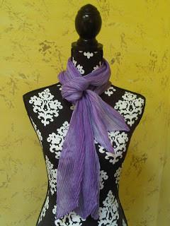 Purple Blue combo scarf 2013