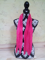 Deep Pink Delight scarf