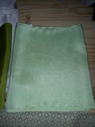 Base dyed shibori mint panel