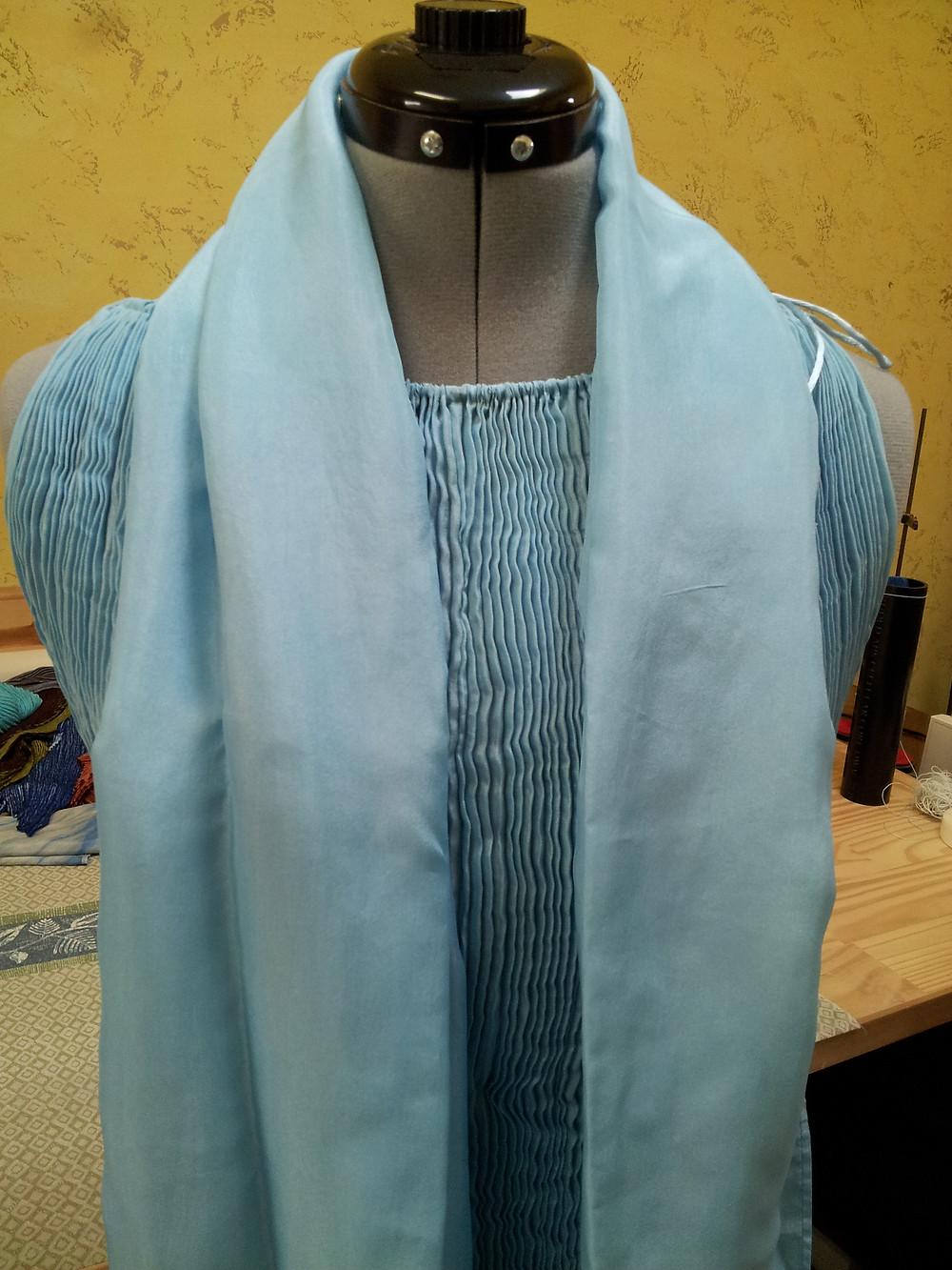 Blue Diva Shibori