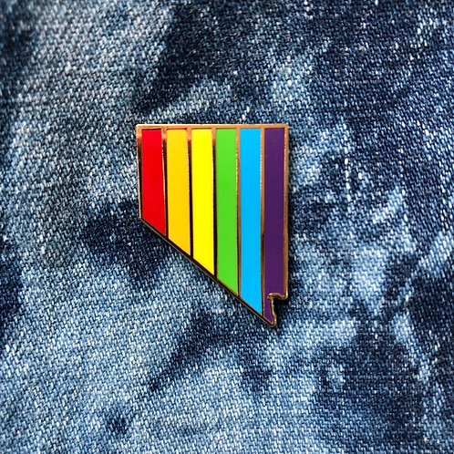 Nevada Pride Pin