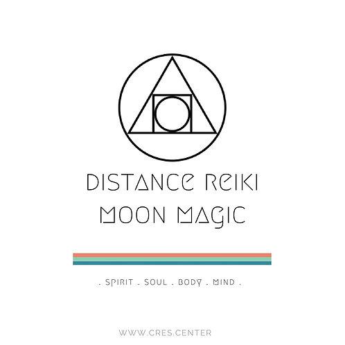 Distance Reiki Moon Magic
