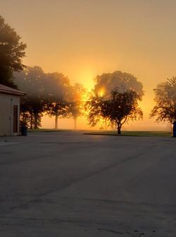 Stoney Brook Farm at sunset