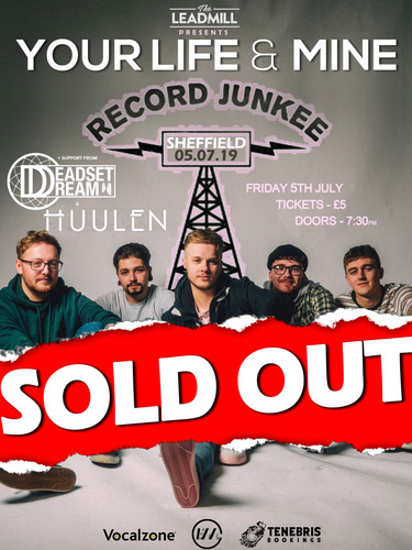 HOMETOWN SHOW POSTER (SOLD OUT) HUULEN.j