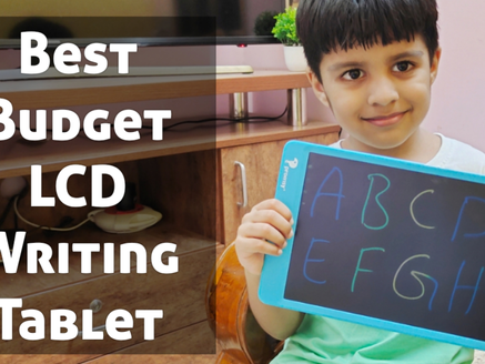 Profissy LCD Writing Tablet : Best Budget, Rechargeable, Colourful Writting Tablet