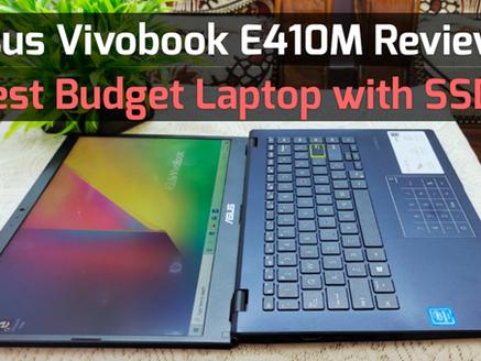 Asus Vivobook E410M Tech Review : Best Budget Laptop for Students 2021