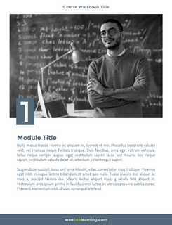 Module 1 Cover Page