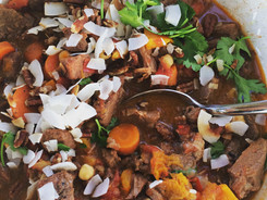 Moorish Lamb Stew with Coconut