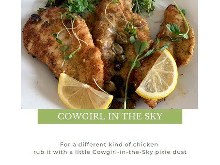 COWGIRL IN THE SKY CHICKEN CUTLET