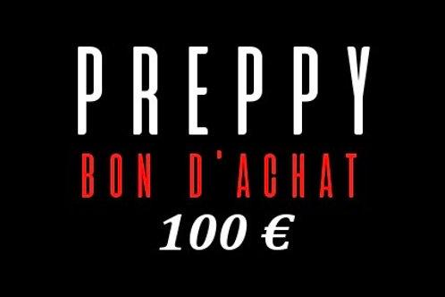 Bon d'achat 100 €
