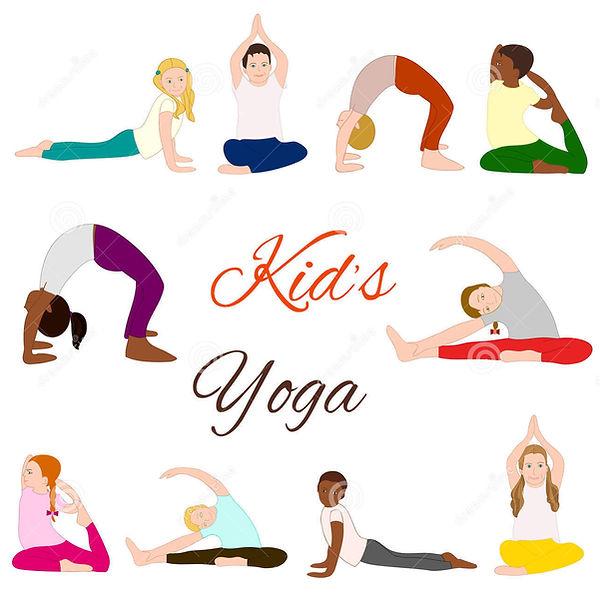 yoga-kids-set-gymnastics-children-health