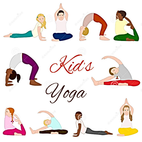 yoga-kids-set-gymnastics-children-health