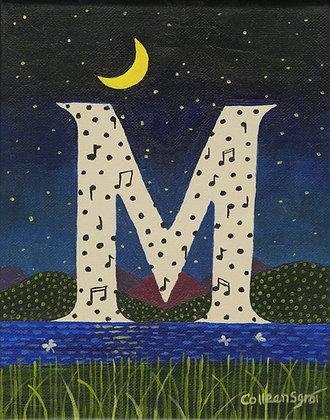 Folk Art Alphabet - M