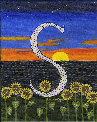 Folk Art Alphabet - S