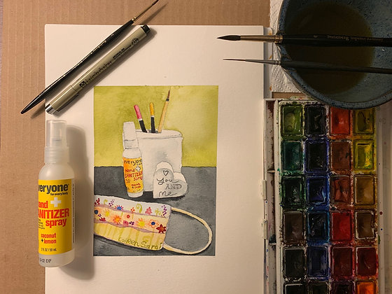 Create Your Own Pandemic Still Life