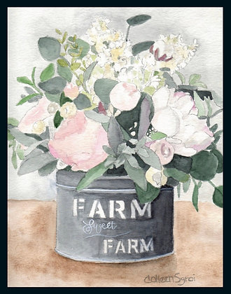 Farm Sweet Farm Note Card