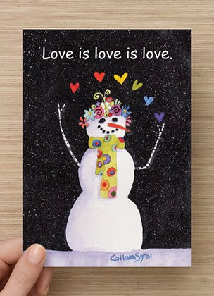 Love is love is love Card