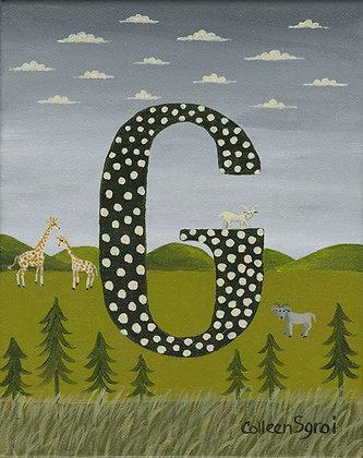 Folk Art Alphabet - G