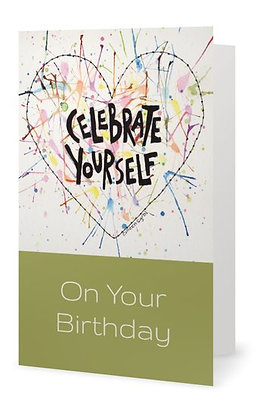 Celebrate Yourself Card