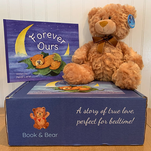 Forever Ours Book & Bear