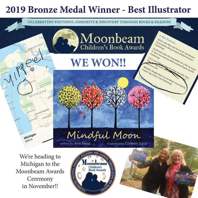 2019 Bronze Medal Winner - Best Illustrator