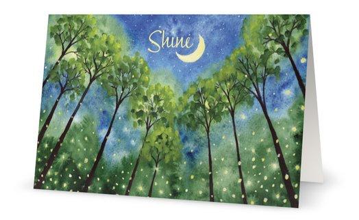 Shine Birthday Card