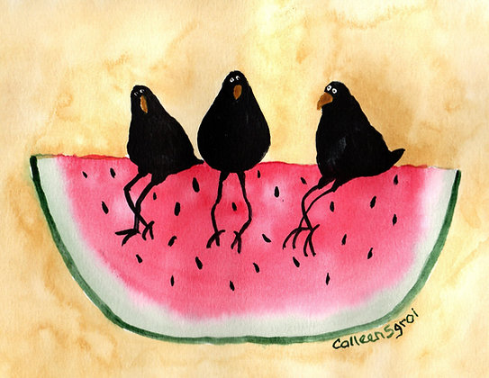 Watermelon Crows