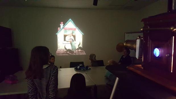 Atelier de lanterne magique