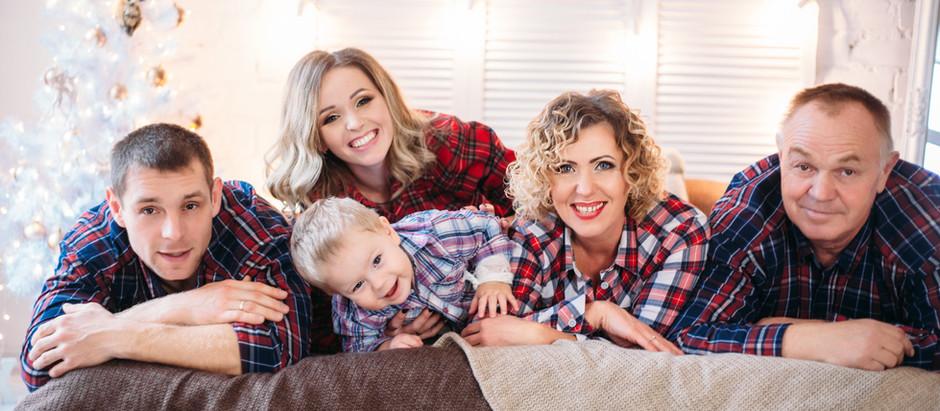 Тепло семейной фотосессии