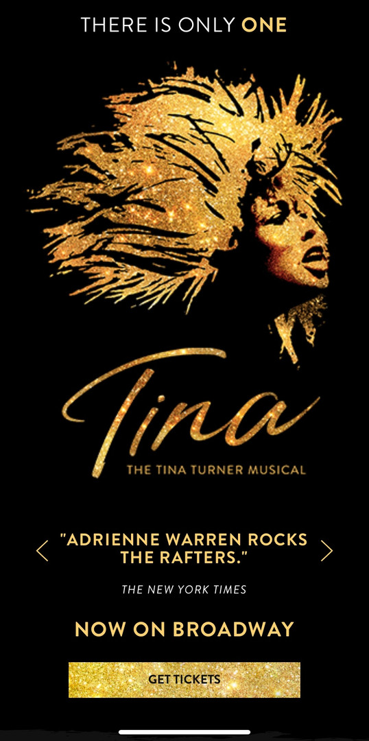 TINA on Broadway