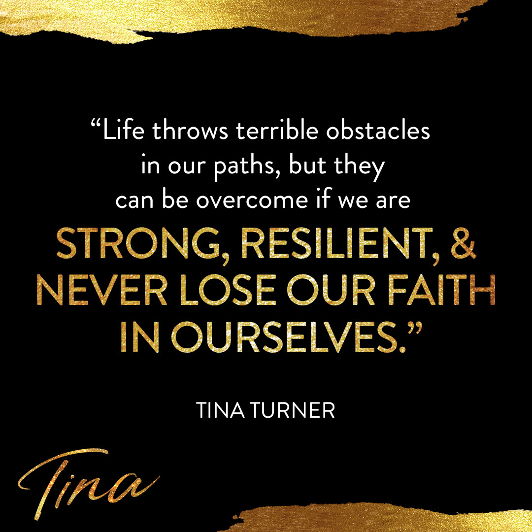 """TINA - Quote Card """"Only Intermission"""" Post"""