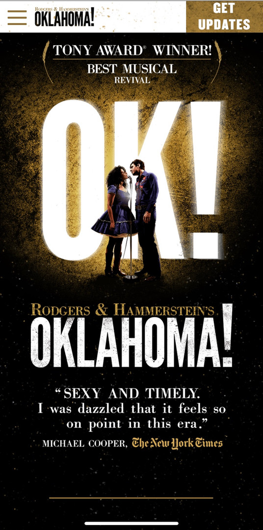Oklahoma! on Broadway
