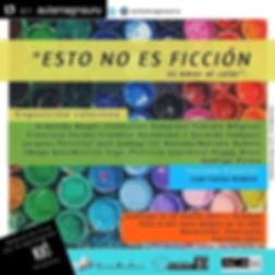 """Poster """"Esto no es Ficcion"""""""