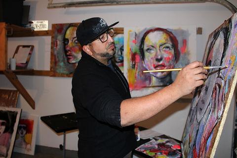 taller del artista Juan Carlos Ardenti