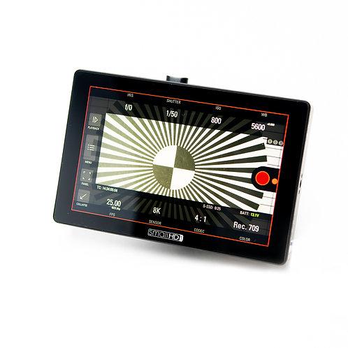 """smallHD Cine 7 HDMI/SDI 7"""" Monitor (RED Control)"""