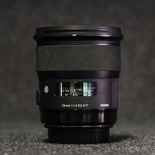 Sigma Art 24mm f1.4 - EF