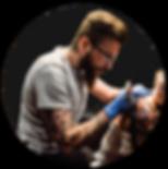 Thomas, Tatoueur du salon de tatouage The Seven Circles | Cahors