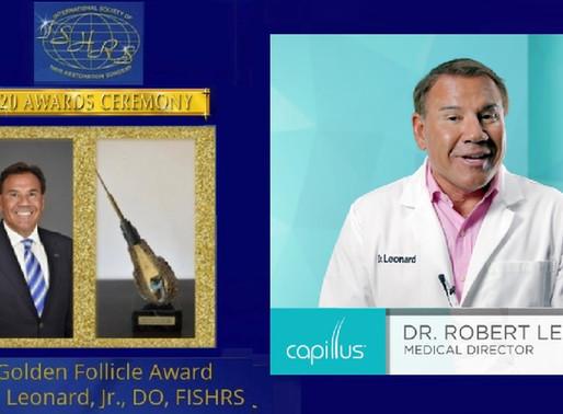 Capillus 常任顧問が2020 国際毛髪学会 ゴールデン賞受賞。 世界最高峰の毛髪学会で最高賞を受賞した2名の専門家がCapillusを推奨しています