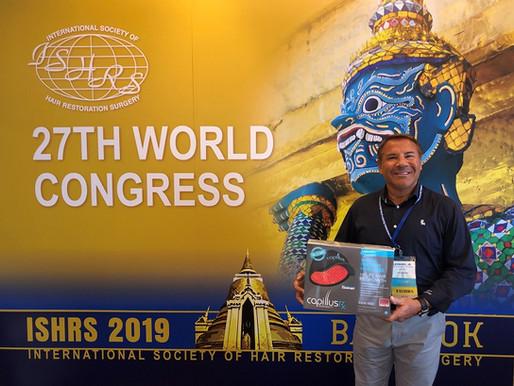 タイで開催中の国際毛髪外科学会(ISHRS)にCapillus(カピラス)が参加と同学会、前会長がメディカルディレクターに就任