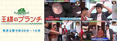 王様のブランチ capillus カピラスの紹介