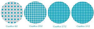 Capillus(カピラス)の低出力レーザーの搭載個数の比較イラスト